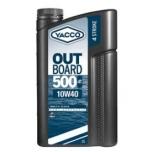 YACCO OUTBOARD 500 4T 10W40 2L